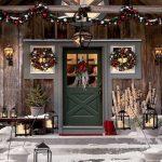 Addobbi natalizi per balconi ed esterni